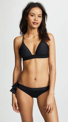 Norma Kamali Kamali Kulture Banded Bikini Top