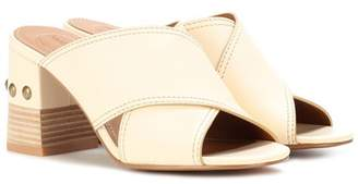 See by Chloe Studded leather sandals