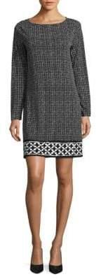 MICHAEL Michael Kors Contrast Border Shift Dress