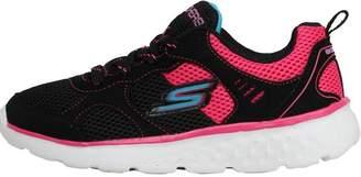 Skechers Junior Girls GOrun 400 K Trainers Black/Hot Pink