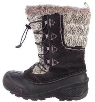The North Face Suede Mid-Calf Snow Boots
