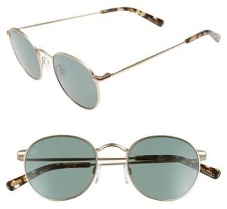 Women's Raen Benson 51Mm Sunglasses - Gold/ Brindle $200 thestylecure.com