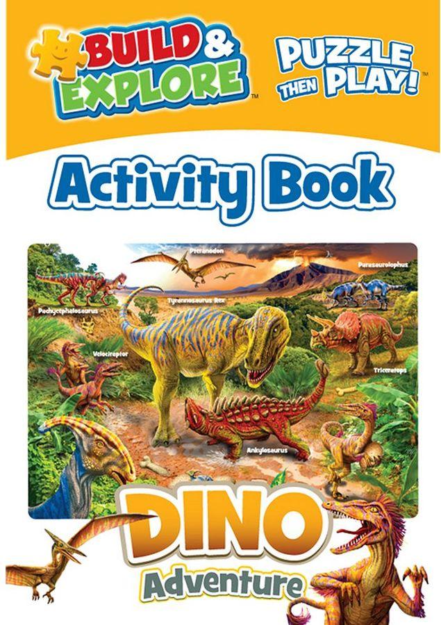 Build & Explore Dinosaur 48-pc. Activity Puzzle