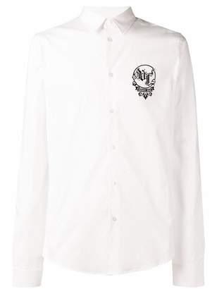 Versace logo plain shirt