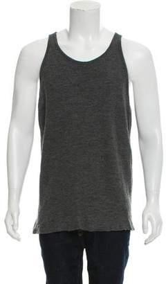 Jan-Jan Van Essche Woven Sleeveless T-Shirt
