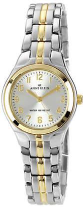 Anne Klein Two tone ladies classic round watch