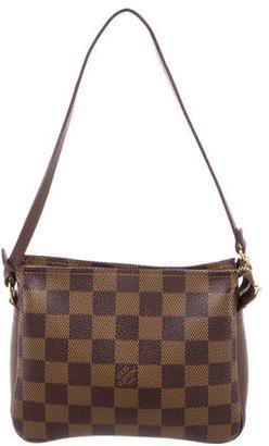 Louis Vuitton Damier Ebene Trousse Pochette $400 thestylecure.com