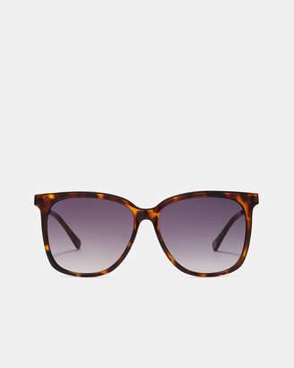 Ted Baker FORNNA Metallic detail square sunglasses