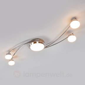 Vitus - LED-Deckenlampe in Chrom