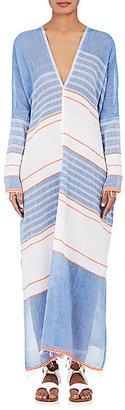 Lemlem Women's Aden Striped Gauze Caftan $340 thestylecure.com
