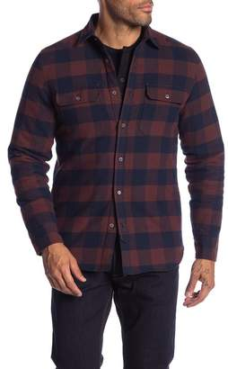 Gilded Age CPO Cotton Plaid Shirt Jacket