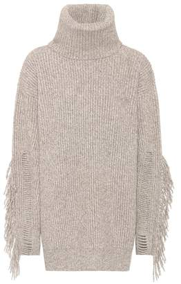 Stella McCartney Cashmere and wool turtleneck sweater