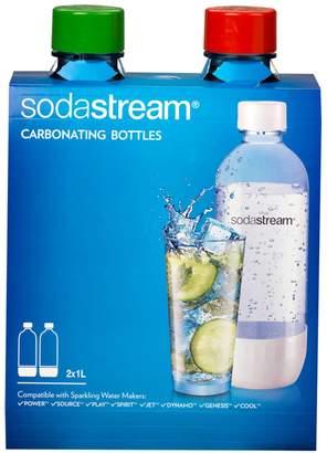 Sodastream 1-Liter Carbonating Bottles - 2-pk.