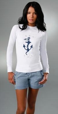 Torn by Ronny Kobo Janelle Stars Sweatshirt