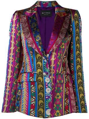 Etro Quartz printed blazer