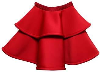 Layered Super Soft Neoprene Skirt