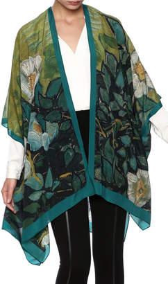 Cocoon House Silk Wild Rose Kimono $119 thestylecure.com