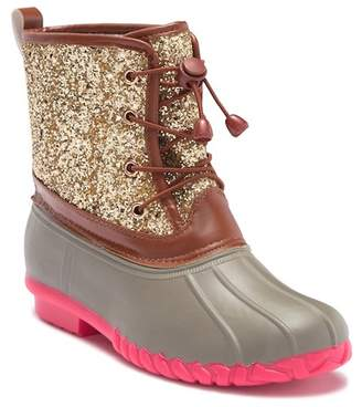 OLIVIA MILLER OMG Glitter Duck Boot (Toddler, Little Kid, & Big Kid)