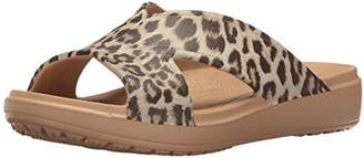 Crocs Women's Sloane Graphic X-Strap Slide Sandal
