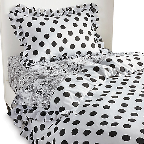 Disney Minnie Mouse Grand Dotty Duvet Cover by Ethan Allen