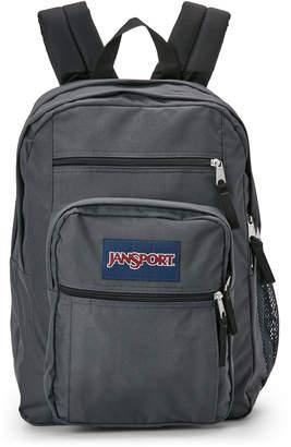 JanSport Grey Big Student Backpack