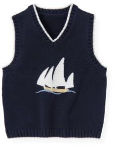 Janie and Jack Sailboat Sweater Vest