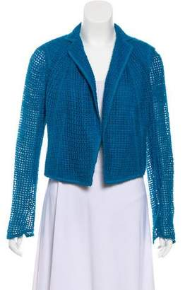 Akris Open Knit Open Front Jacket