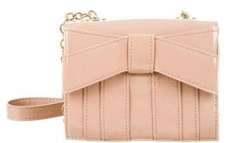 Zac Posen Bow Embellished Crossbody Bag