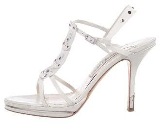 Jimmy Choo Jewel T-Strap Sandals