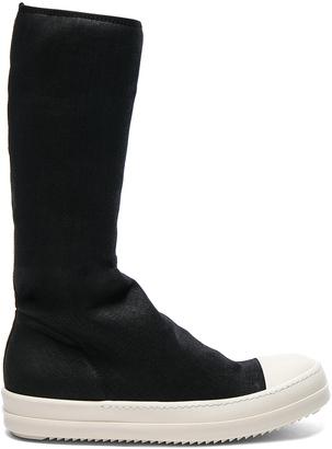 DRKSHDW by Rick Owens Scarpe Sock Sneakers $723 thestylecure.com