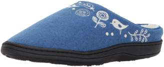 Acorn Women's Felted Upper Talara Mule (Large/8-9 B(M), Heathered Blue)