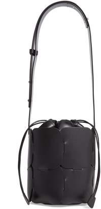 Paco Rabanne Mini Element Calfskin Bucket Bag