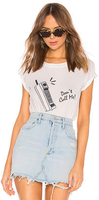 Wildfox Couture Don't Call Me Tee
