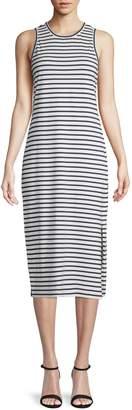 Derek Lam Striped Cotton Tank Dress