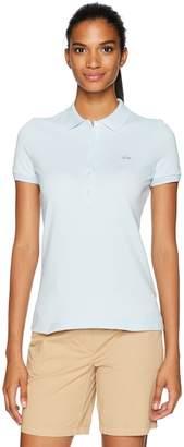 Lacoste Women's Slim Fit Stretch Mini Cotton Pique Polo