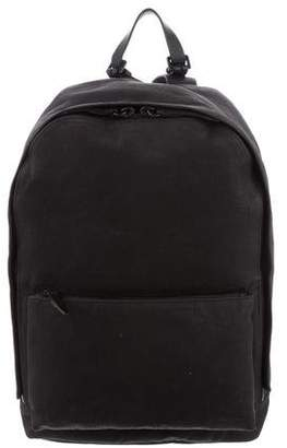 3.1 Phillip Lim Leather-Trim Woven Backpack