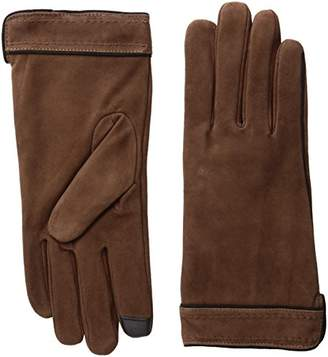 Adrienne Vittadini Women's Soft Suede Micropile Lined Touchscreen Gloves $88 thestylecure.com