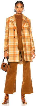 Acne Studios Plaid Coat