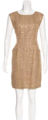 MICHAEL Michael Kors Embellished Knee-Length Dress