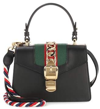 Gucci Sylvie Mini leather shoulder bag