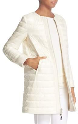 Moncler Freesia Reversible Long Puffer Jacket