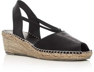 Andre Assous Dainty Slingback Espadrille Sandals $169 thestylecure.com