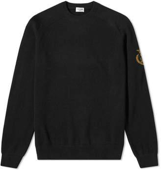 Saint Laurent Arm Crest Crew Knit