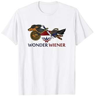 Wonder Wiener Funny Dachshund T-Shirt