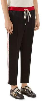 Gucci Satin Track Pants
