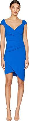 Nicole Miller Women's Structured Heavy Jersey Stefanie Dress