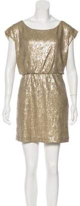 Rebecca Minkoff Sequin-Embellished Mini Dress