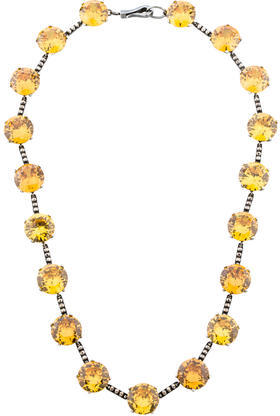 Bottega VenetaBottega Veneta Crystal Collar Necklace