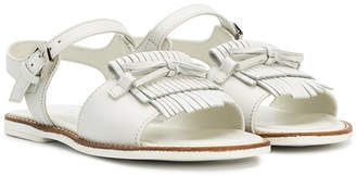 Tod's Kids fringed sandals