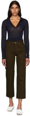 Jacquemus Brown Le Jean Jeans